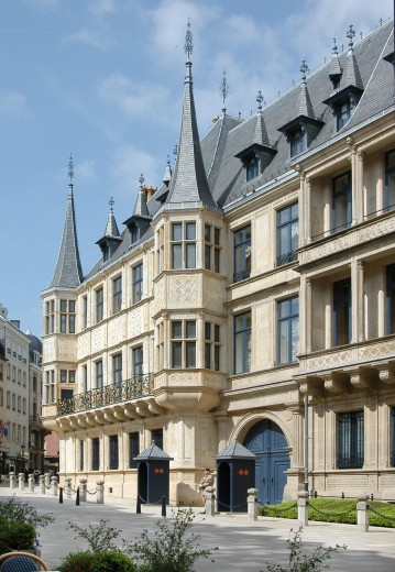 Palais Grand-Ducal, Luxembourg ville