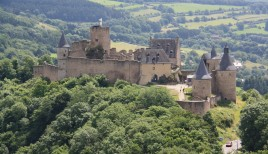 Bourscheid castle (Ardennen)