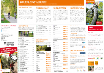 Cycling & Mountain Biking map 2015 GB-DE-FR-NL