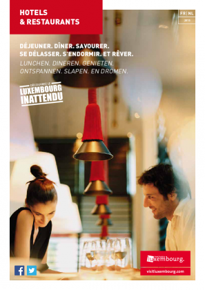 Hotels & Restaurants 2015 FR-NL