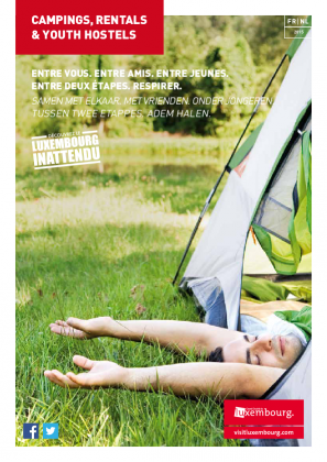 Campings, Rentals & Youth Hostels 2015 FR-NL