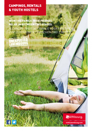Campings, Rentals & Youth Hostels 2015 DE-GB