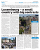 Luxembourg - a small country with big contrasts