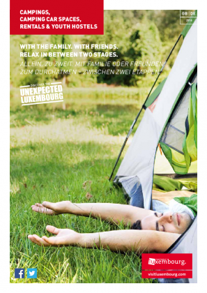 Campings, Rentals & Youth Hostels 2016 DE-GB