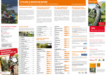 Cycling Map 2016