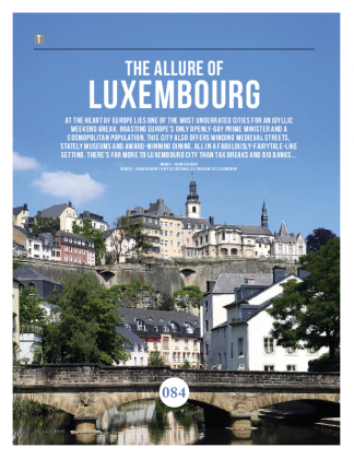 The allure of Luxembourg