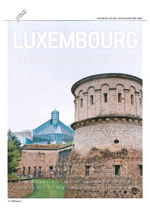 Luxembourg capitale des contrastes