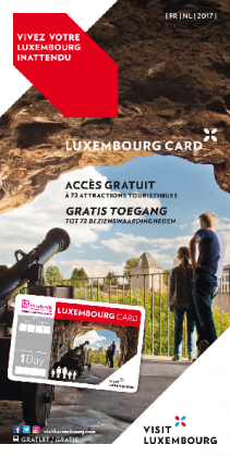 Luxembourg Card FR-NL 2017