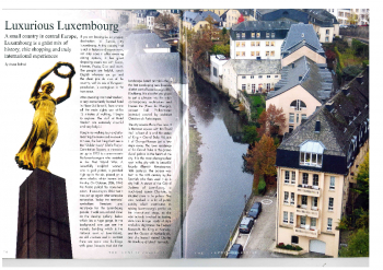 Luxurious Luxembourg - Aruna Rathod