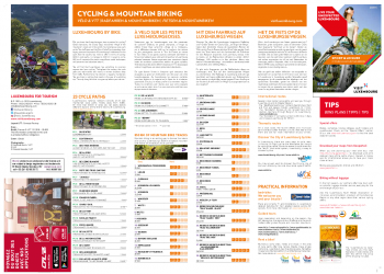 Cycling & Mountain Biking map