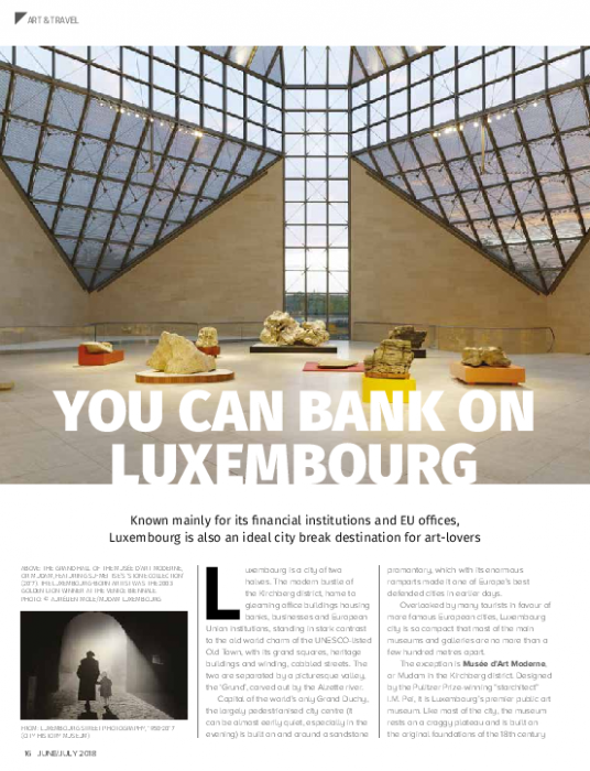 You can bank on Luxembourg   Artmag