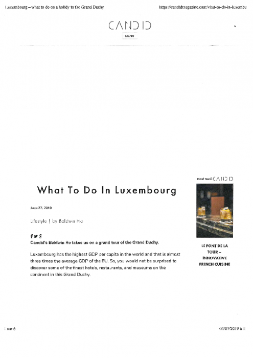 What to do in Luxembourg   Candid Magazine