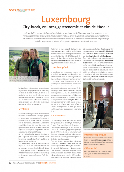 City-break, wellness, gastronomie et vins de Moselle   Travel magazine FR