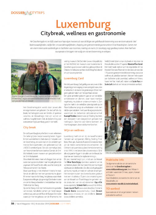 Citybreak, wellness en gastronomie   Travel Magazine NL