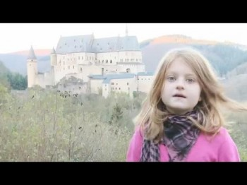 Vianden castle with Lilly