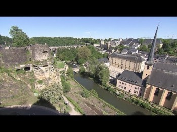 Luxembourg-city with Léa Linster